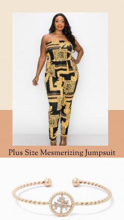 Plus Size Mesmerizing Jumpsuit