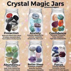 Crystal magic jars