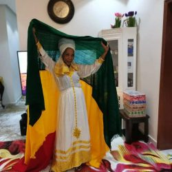Ethiopian Royal Dress