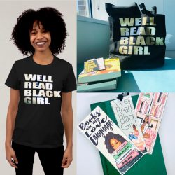 Well-read black girl tshirt, T-shirt, bookmarks and more! Shop SewSoDef on Etsy